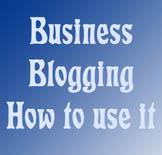 business blogging, blog sites